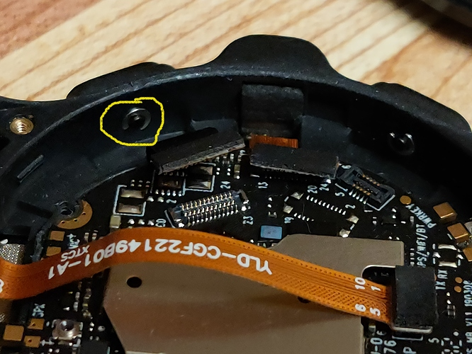 Prime Button - internal view